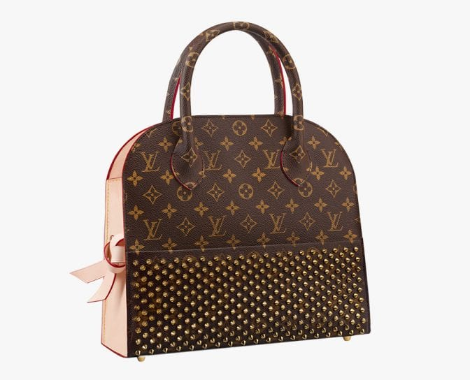 Louis-Vuitton-Christian-Louboutin-Shopping-Tote
