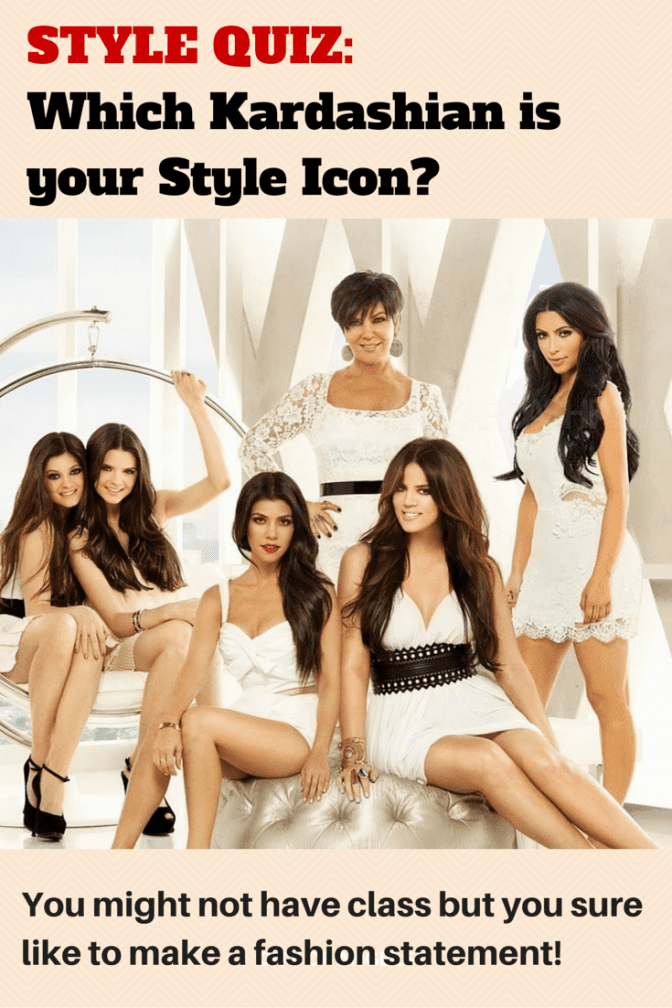 Which Kardashian is your Style Icon