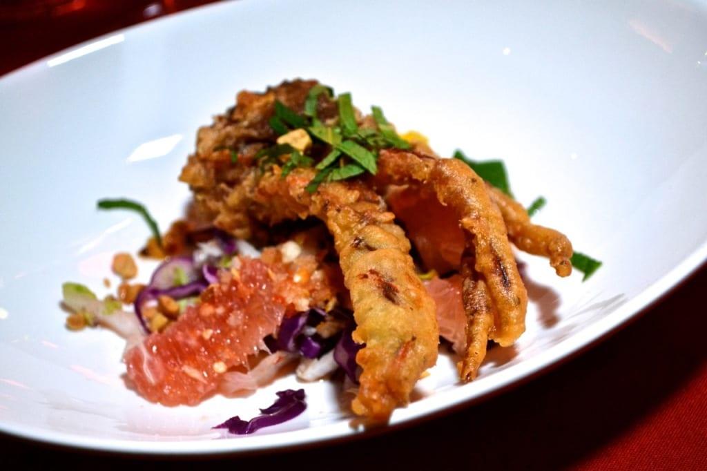 Course 2 - privy newport crab - Credit Eddie Lin