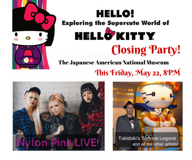 Hello Kitty Closing Party