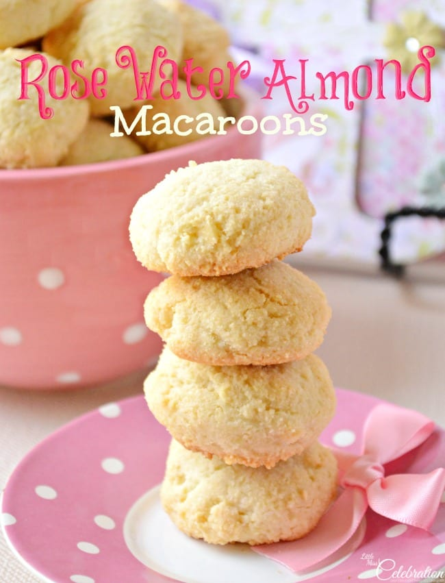 Rose Water Macaroons