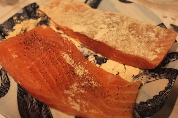 salmon flour