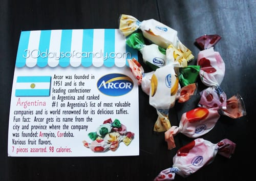 30 days of candy - Argentina Arcor
