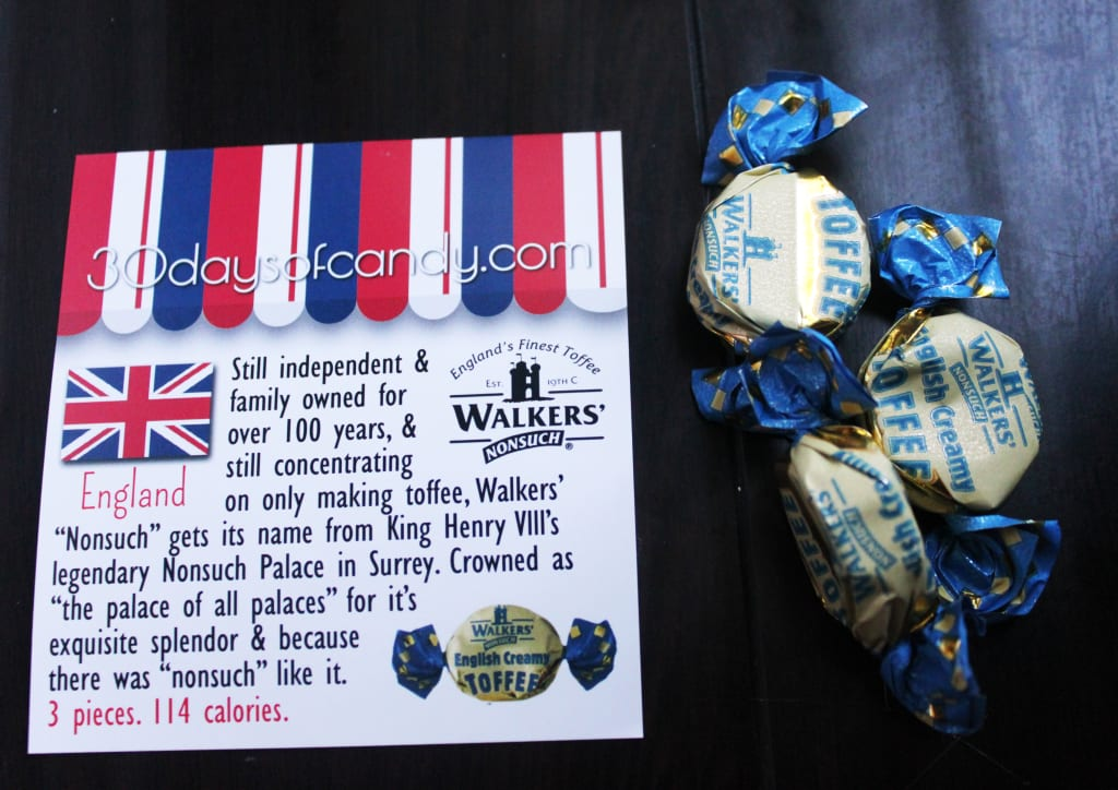 30 days of candy - England Nonsuch