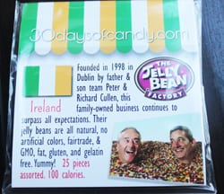30 days of candy - Ireland Jelly Bean Factory