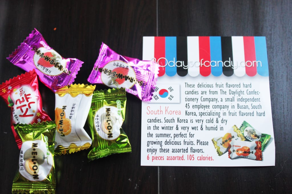 30 days of candy - Korea Daylight Confectionery Company