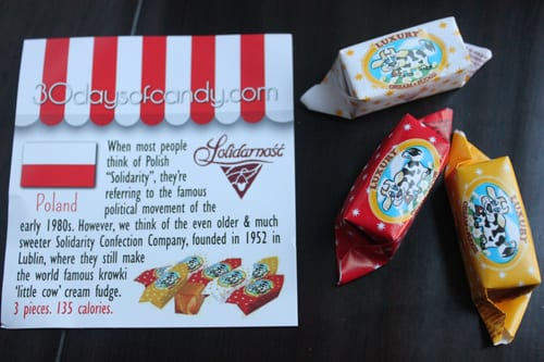 30 days of candy - Poland Solidarity