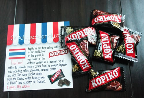 30 days of candy - Thailand Kopiko