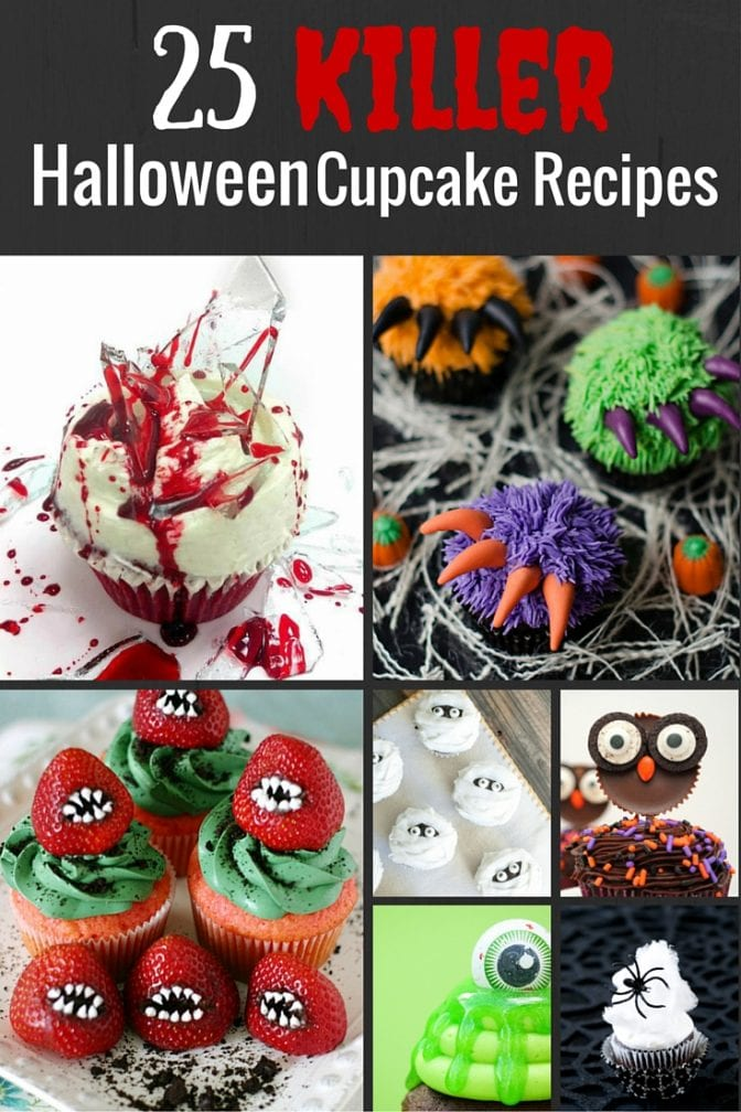 25 Killer Halloween Cupcake Recipes