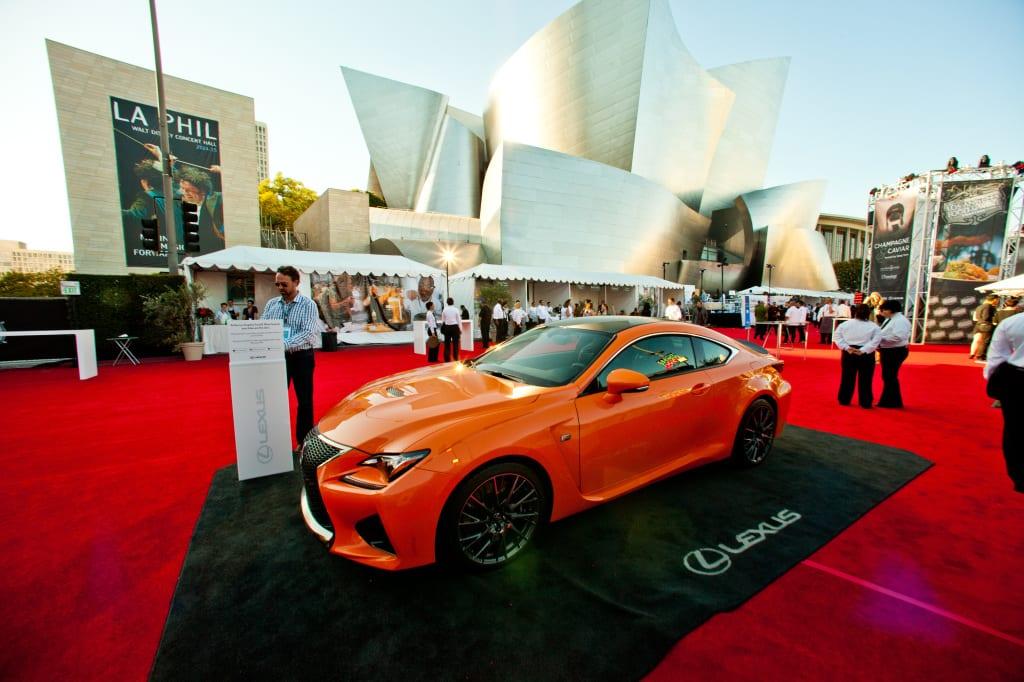 LA Food and Wine Lexus