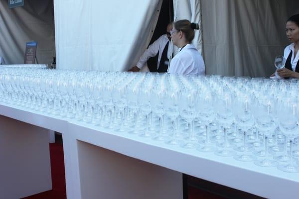 LAFW Wine Glass