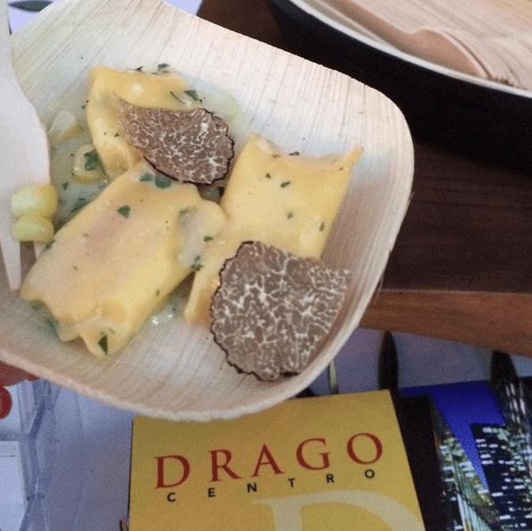 Corn and Truffle Agnolotti