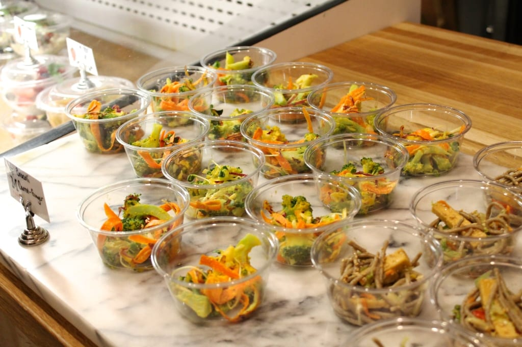 Broccoli Salad with Carrot-Ginger Dressing