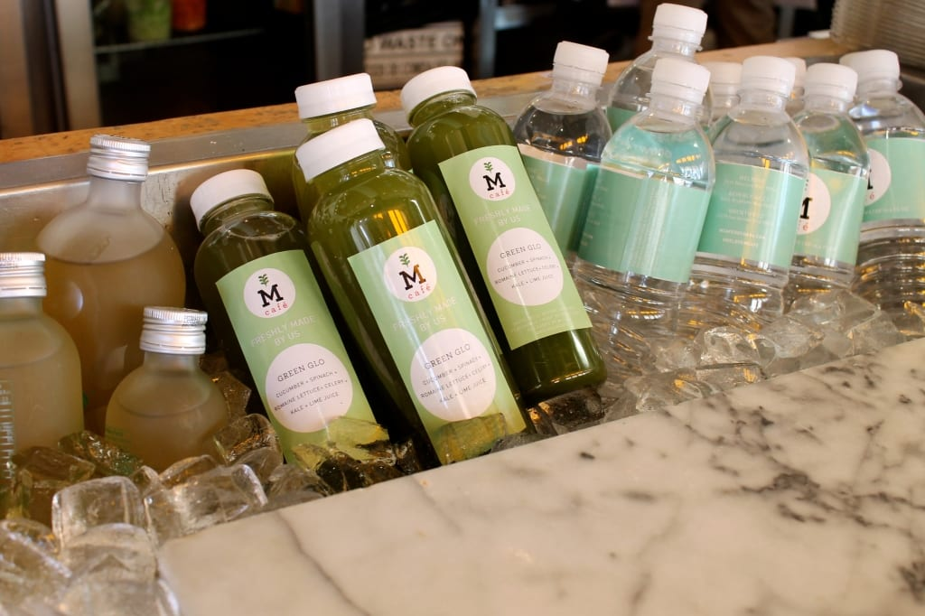 M Cafe Cold-Pressed Juices