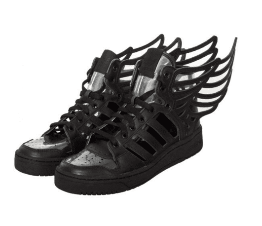 Jeremy Scott Wings 2.0 Cutout Mens in Black by Adidas