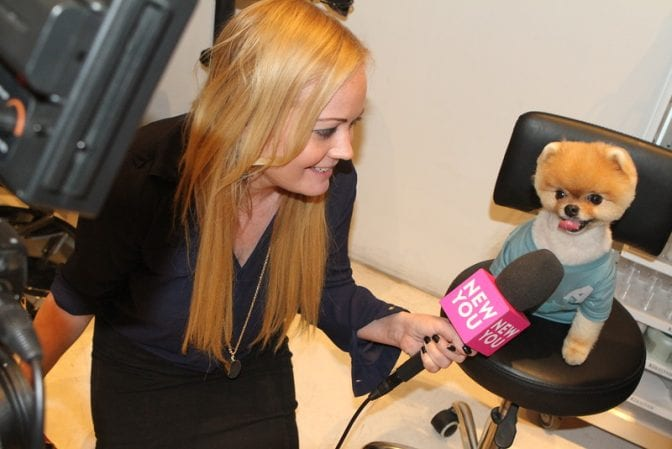 jiff pom at The Organic Shimmer Event