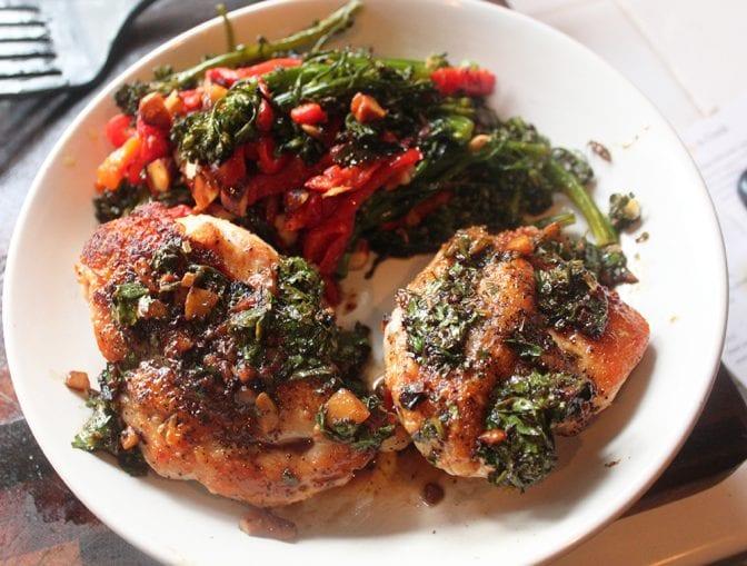 Sunbasket Chicken salmoriglio
