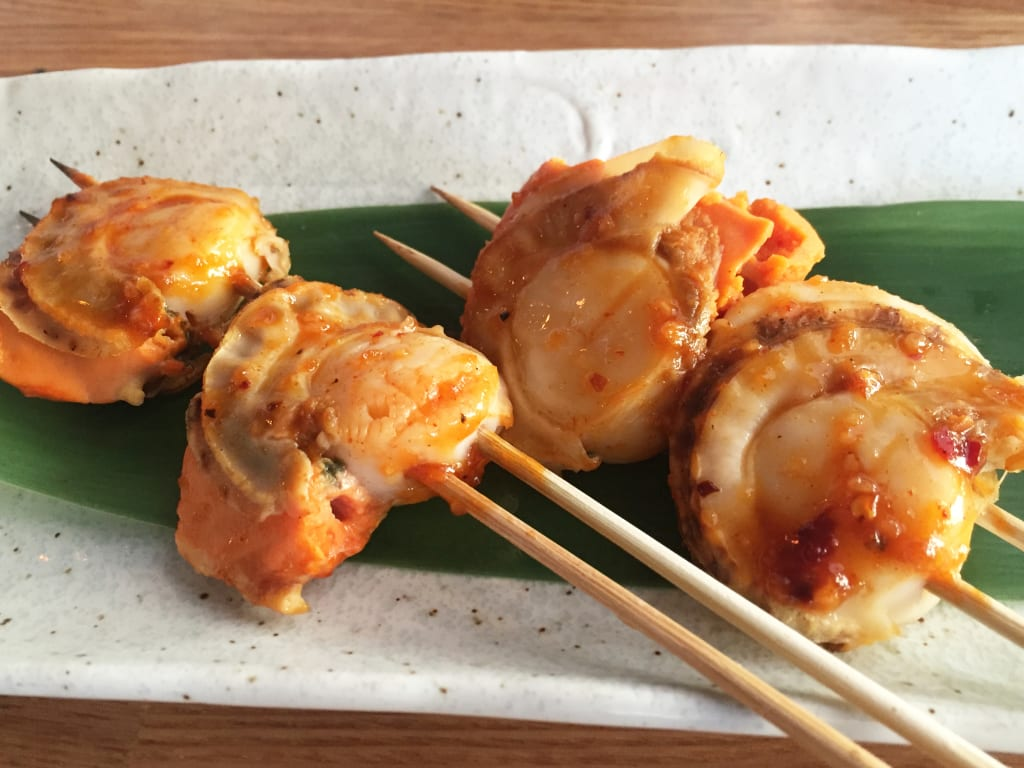 Chang'an Restaurant Scallop Skewers