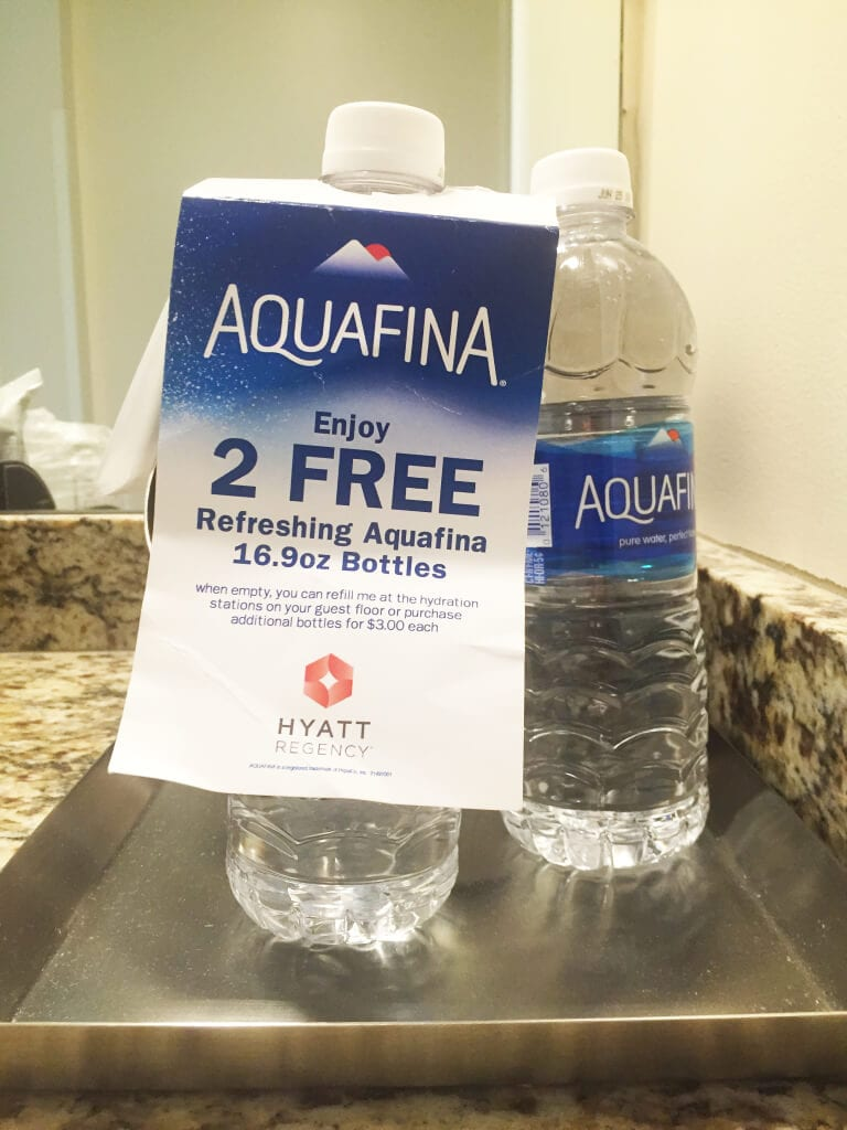Hyatt Indian Wells Free Water