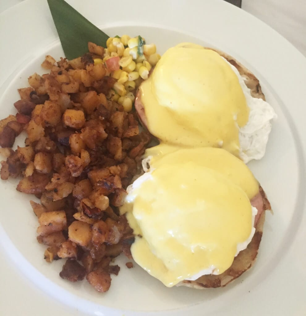 Hyatt Regency Indian Wells Eggs Benedict