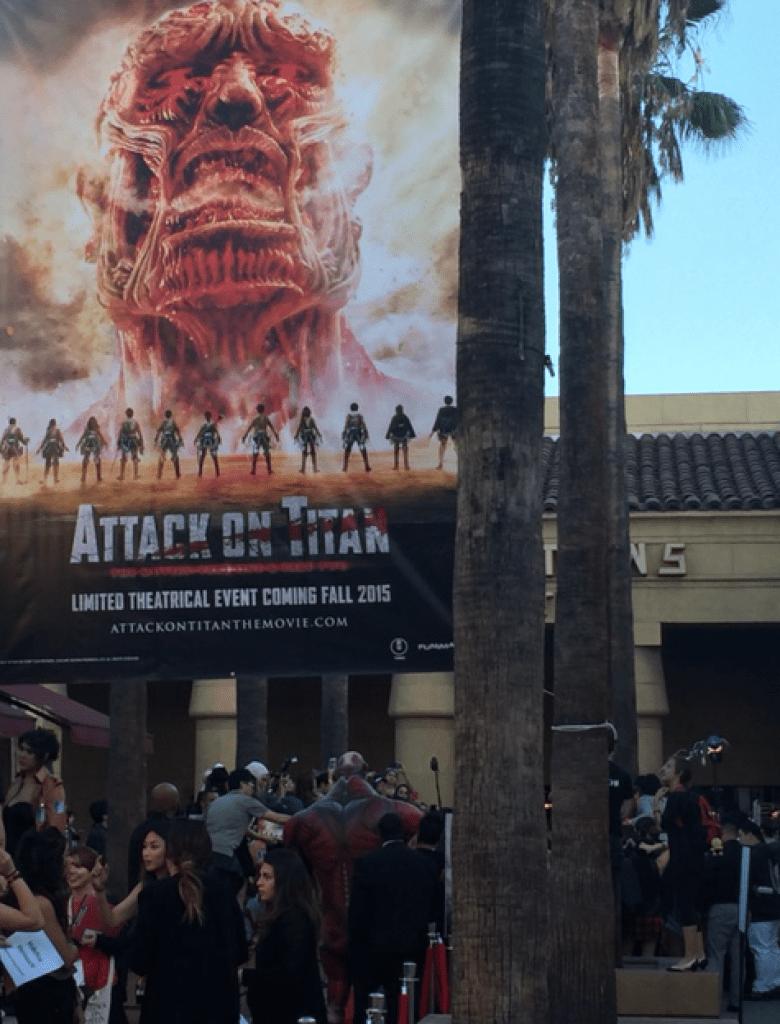 Attack on Titan World Premiere - Kaila Yu